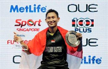 Sony Dwi Kuncoro Juara OUE Singapore Open 2016