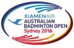 XiamenAir Australian Badminton Open 2016
