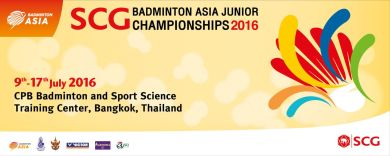 SCG Badminton Asia Junior 2016