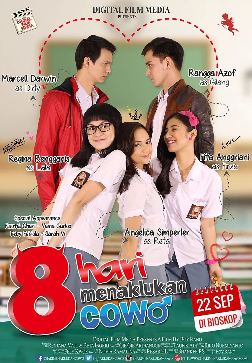 Download 8 Hari Menaklukan Cowo (2016) Full Movie