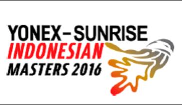 Yonex Sunrise Indonesian Masters 2016